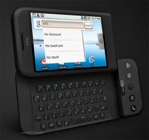 T-モバイルから発売された「HTC Dream」